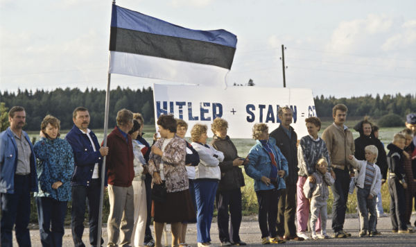 "Акция ""Балтийский путь"" 23 августа 1989 года"