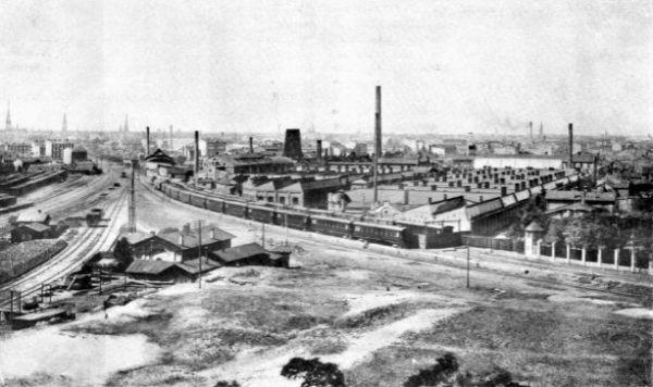 Русско-Балтийский вагонный завод, 1909 год