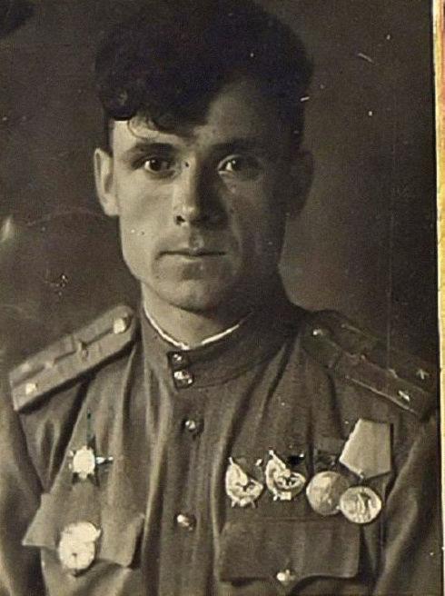 Военный летчик Сергей Люлин