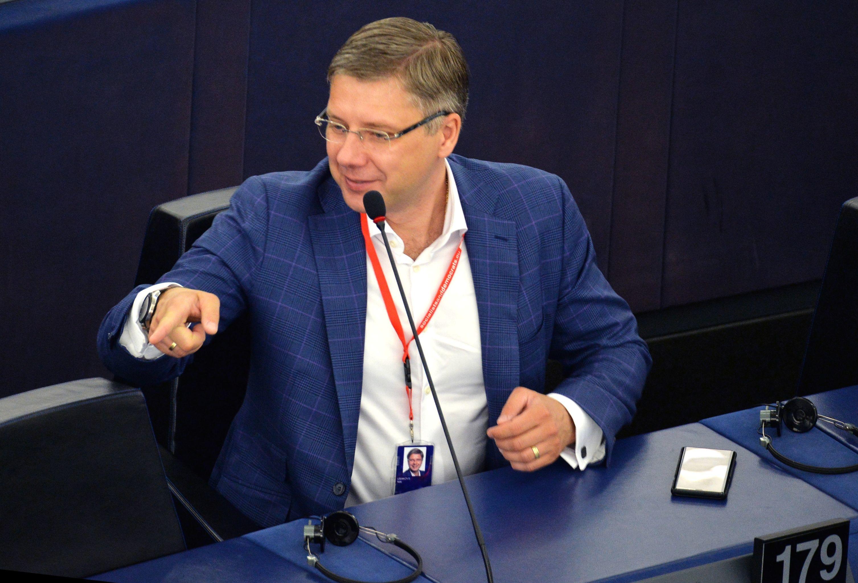 Нил Ушаков на первой сессии нового Европейского парламента в Страсбурге