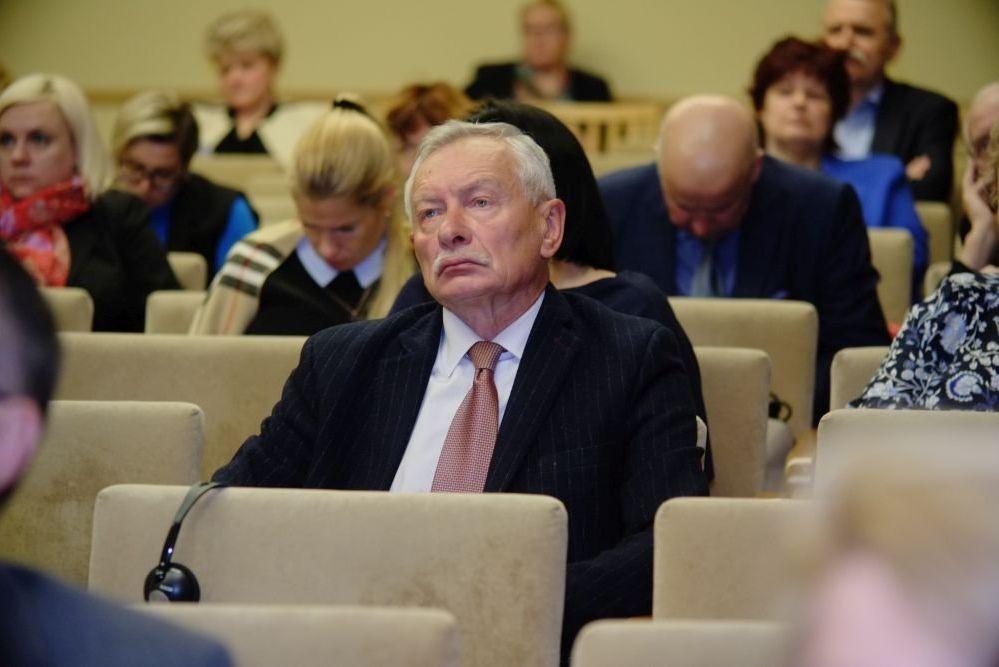 Председатель Сената Балтийской международной академии Станислав Бука
