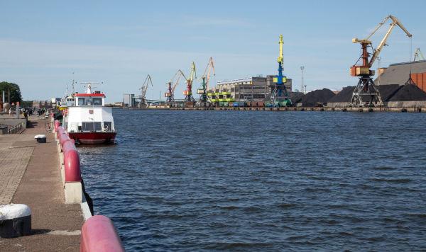 Вентспилсский порт