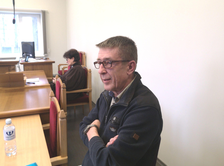 Журналист Юрий Алексеев на заседании суда