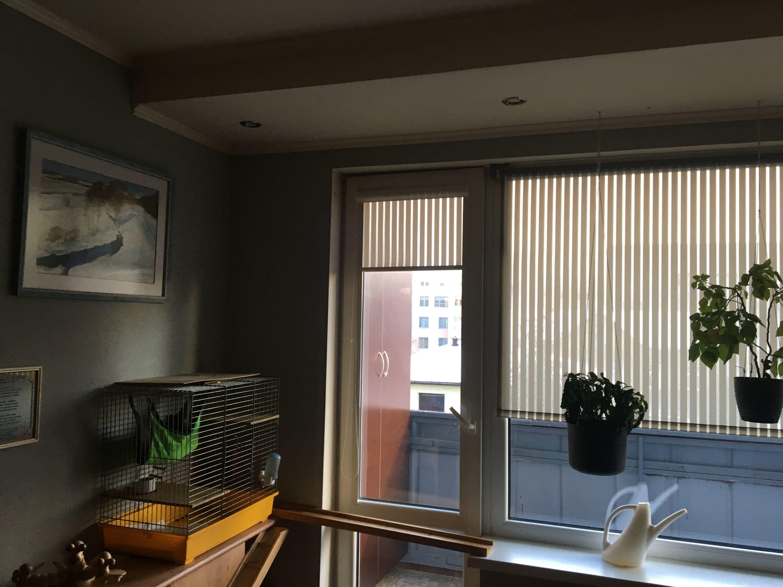 Окно в квартире Юрия Алексеева, где были найдены пакеты с патронами.