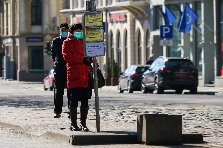 Ситуация в Латвии в связи с коронавирусом
