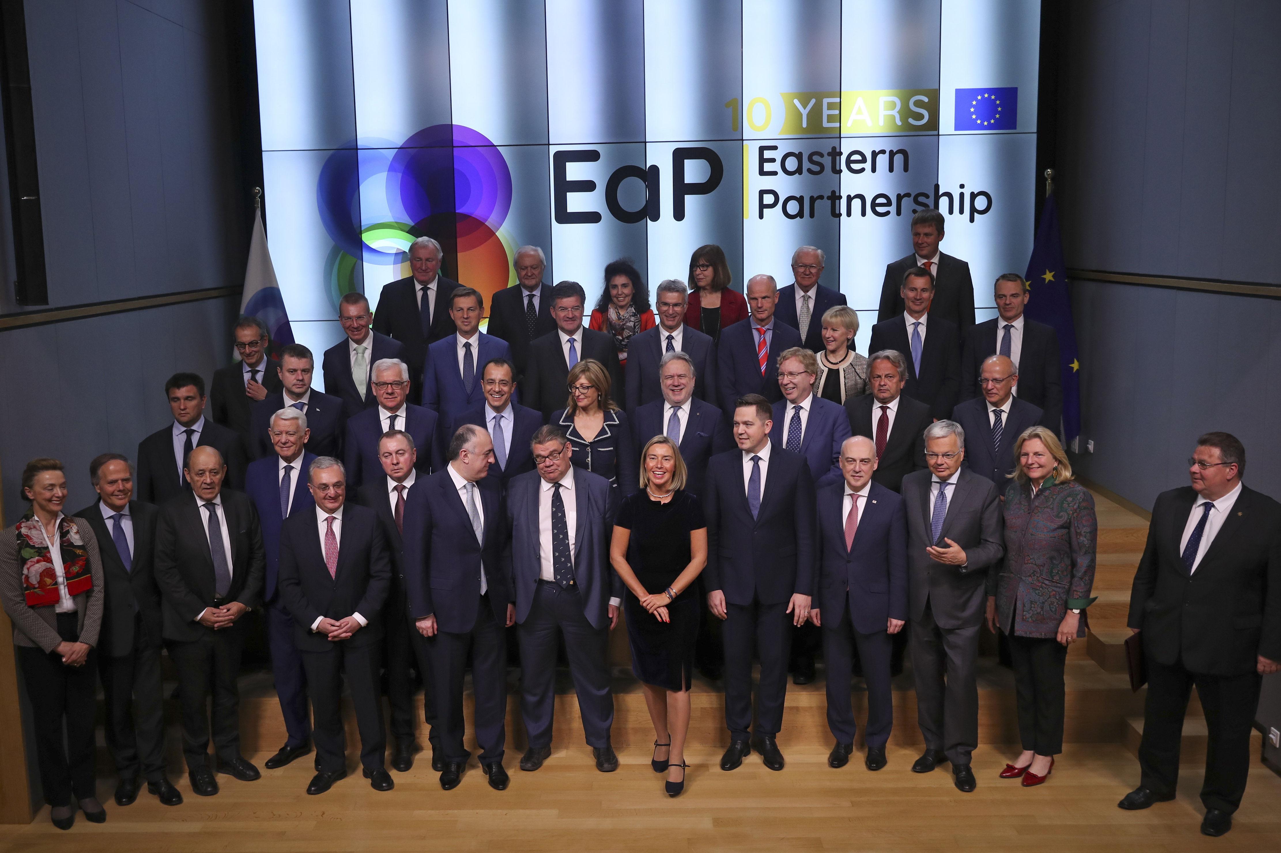 Саммит по Восточному партнерству в Брюсселе, 13 мая 2019
