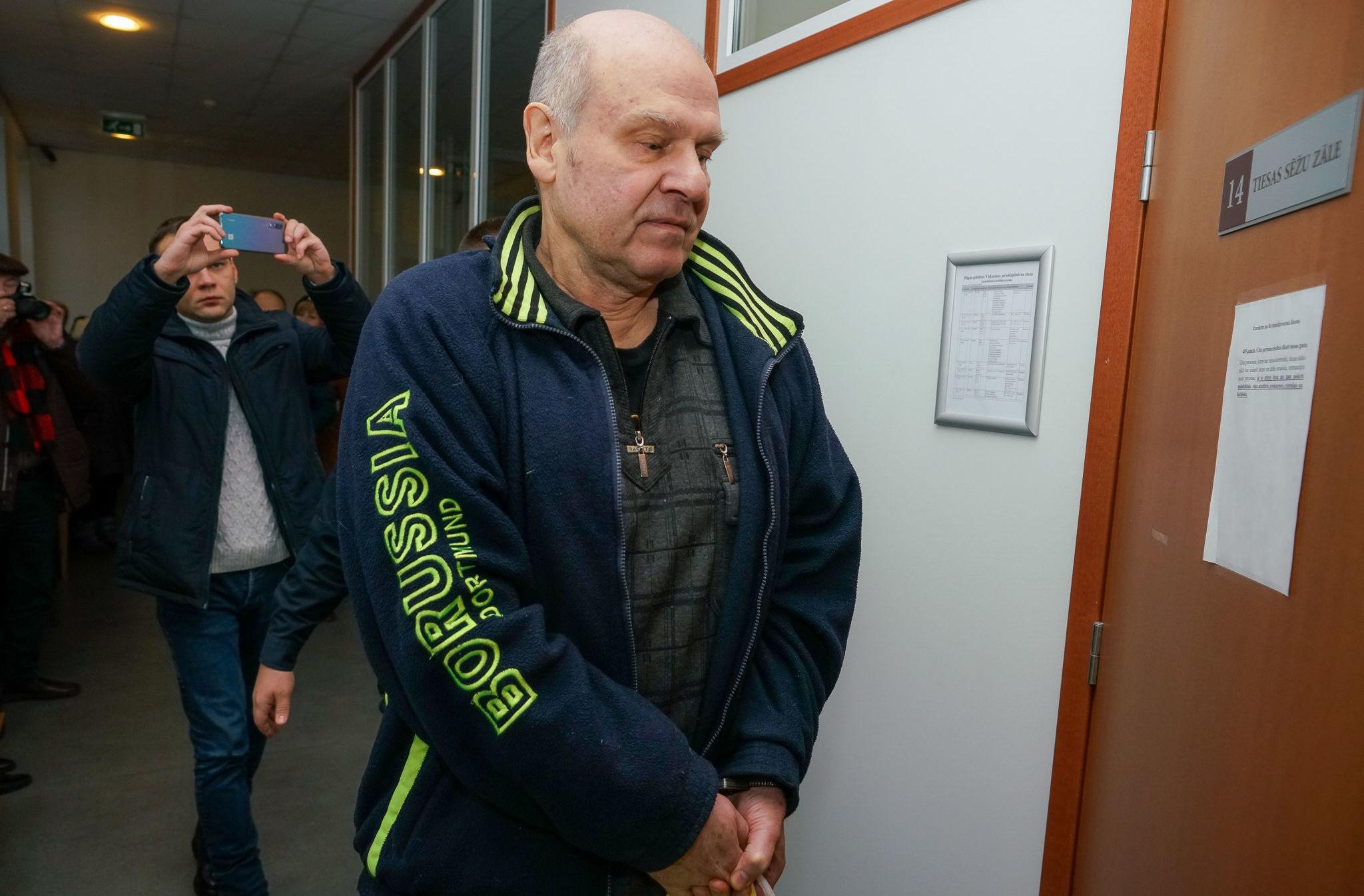 Олег Бурак перед судебным заседанием, 28 ноября 2019