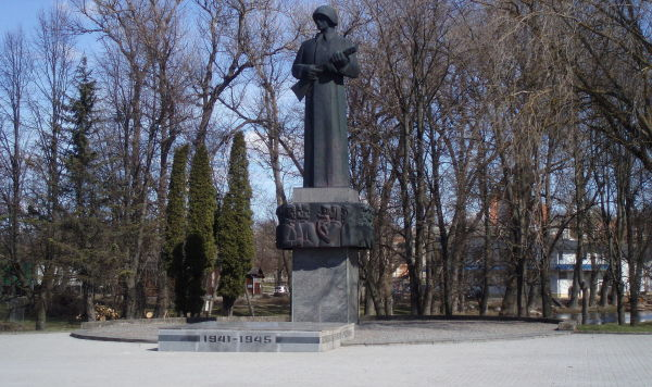 Памятник Освободителям Резекне