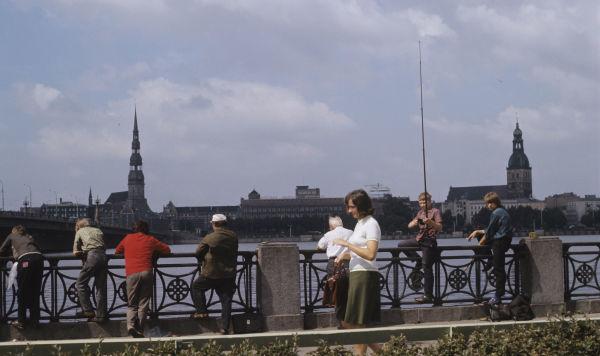 Рига, 1970-е годы