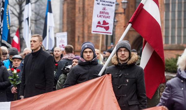 Шествие легионеров в Риге, 16 марта 2019