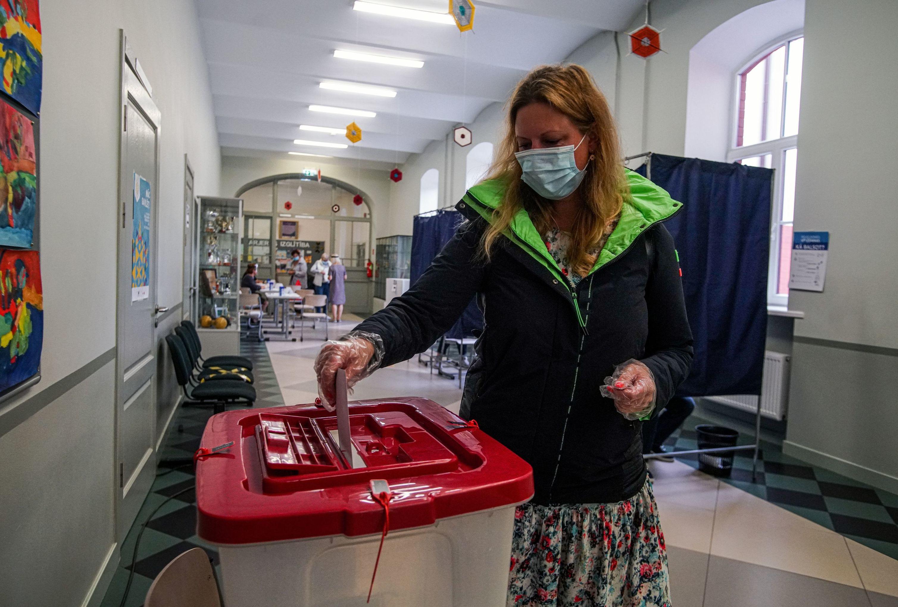 Внеочередные выборы в Рижскую думу