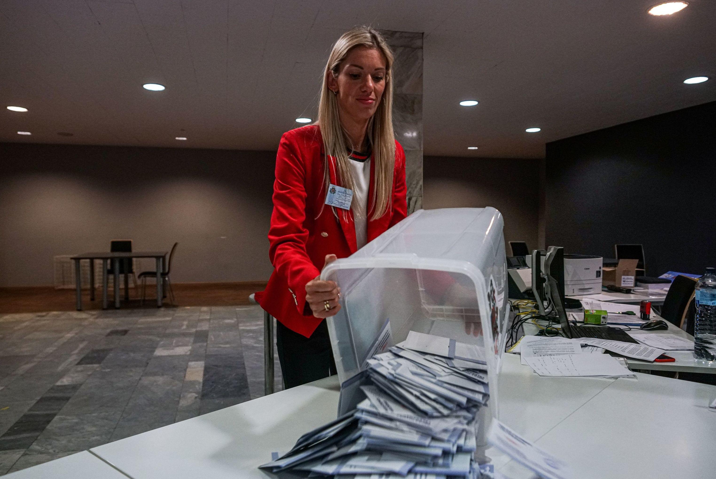 Подсчет голосов на выборах в городскую думу Риги, 29 августа 2020