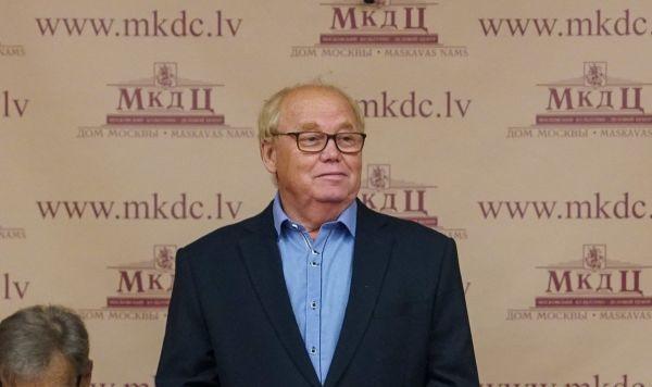 Председатель Общереспубликанского общества ветеранов Владимир Сергеевич Норвинд