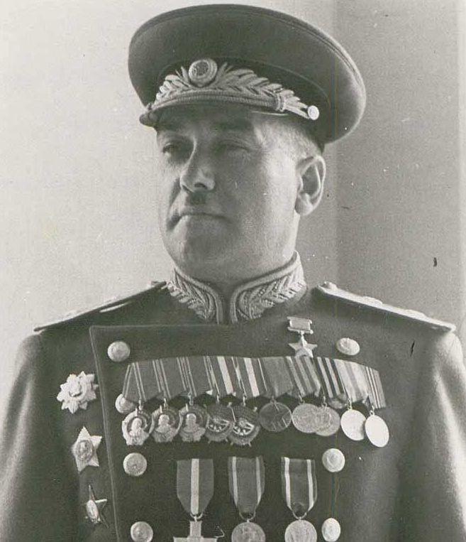 Герой Советского Союза Кривошеин Семен Моисеевич