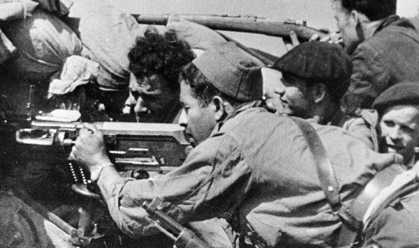 Противники режима генерала Франко во время Гражданской войны в Испании