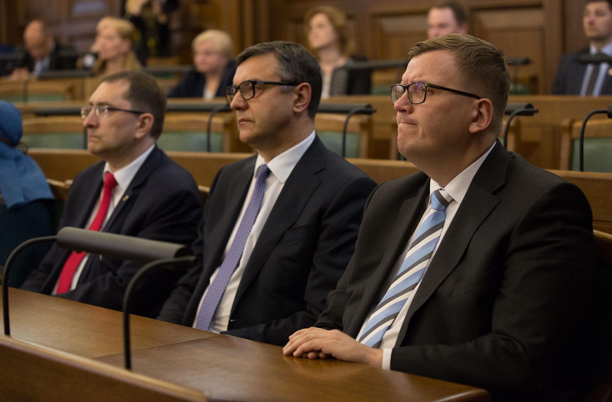 Юрис Пуце (справа)