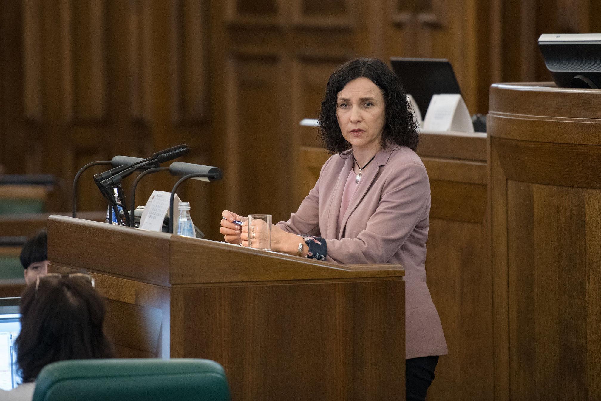 Министр образования и науки Латвии Илга Шуплинска