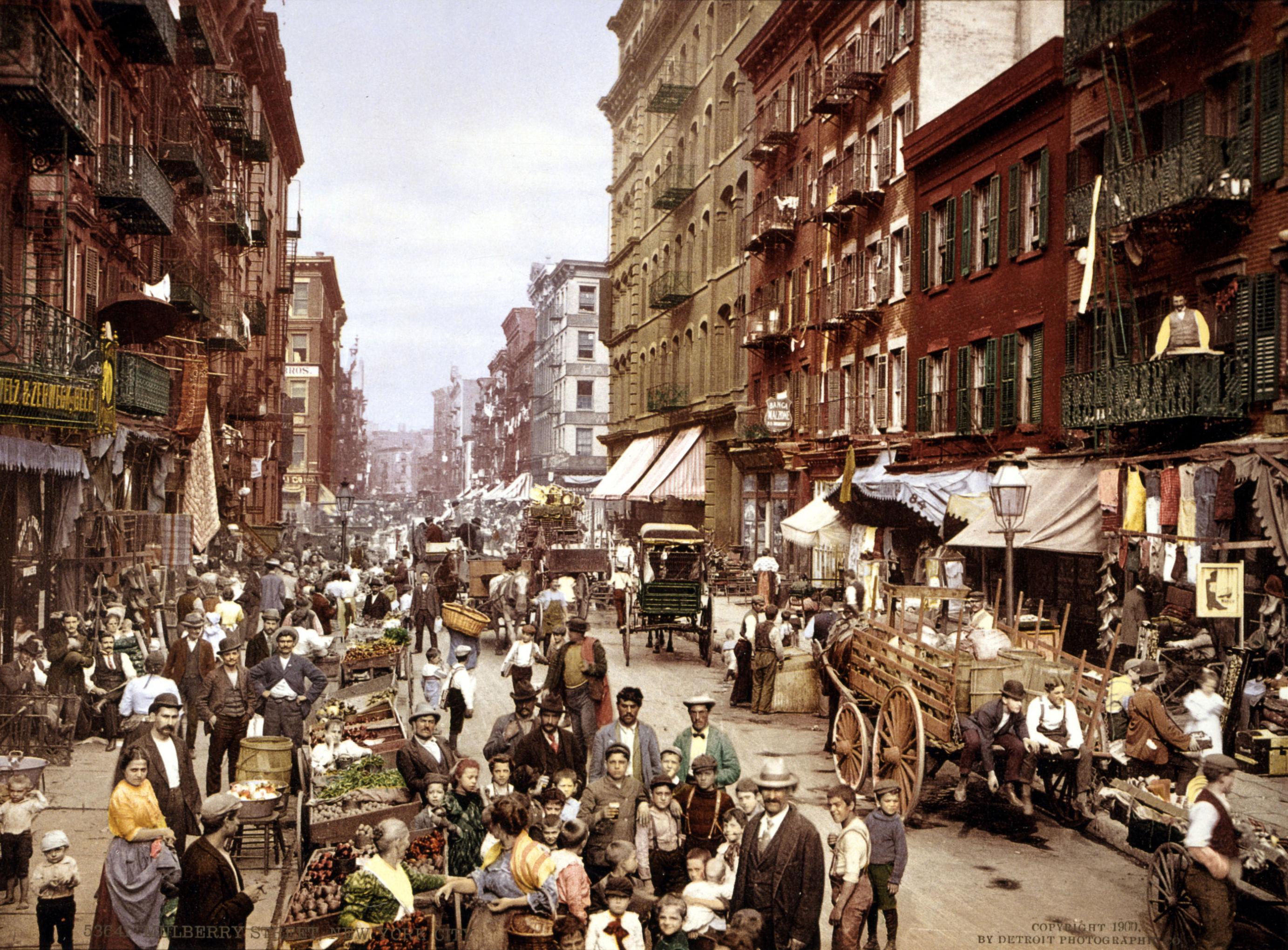 Нью-Йорк, 1900 год