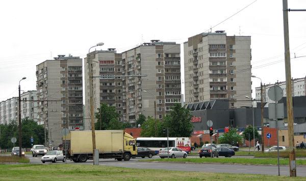 Улица Андрея Сахарова в Риге
