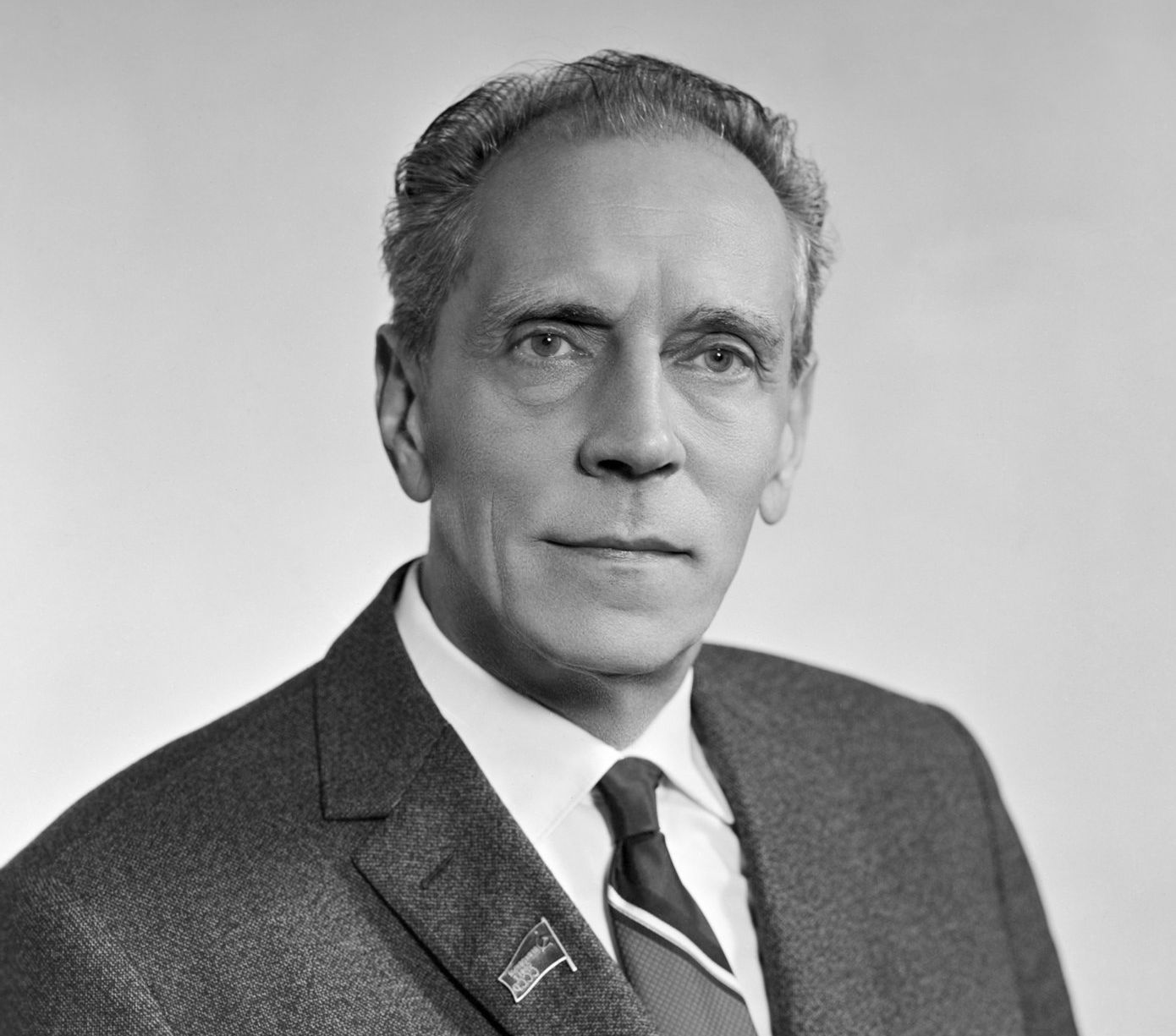 Пельше Арвид Янович, член Политбюро ЦК КПСС, председатель Комитета партийного контроля при ЦК КПСС