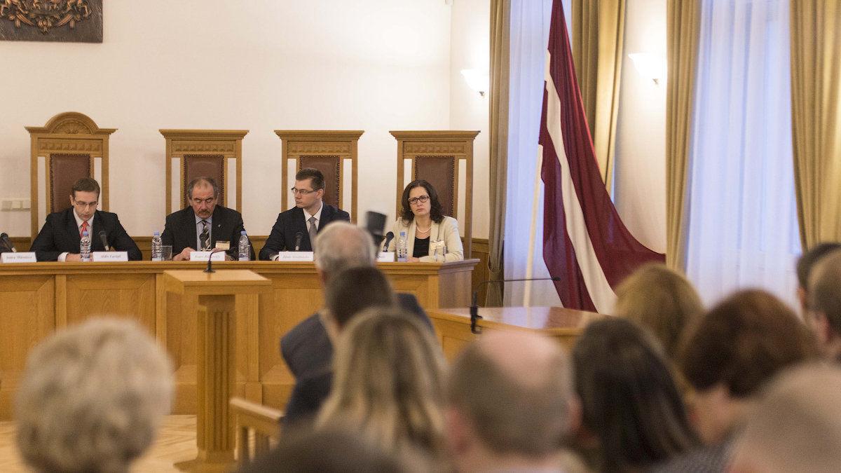 Конституционный суд в Риге