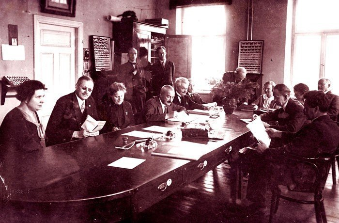 Рижская городская русская гимназия, 1935 год