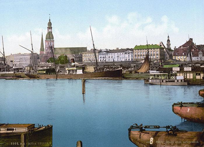 Рига, 1890 год