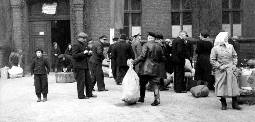 «Baltenlager» (пересыльный лагерь для балтийских немцев), Позен (Познань), 1940 год