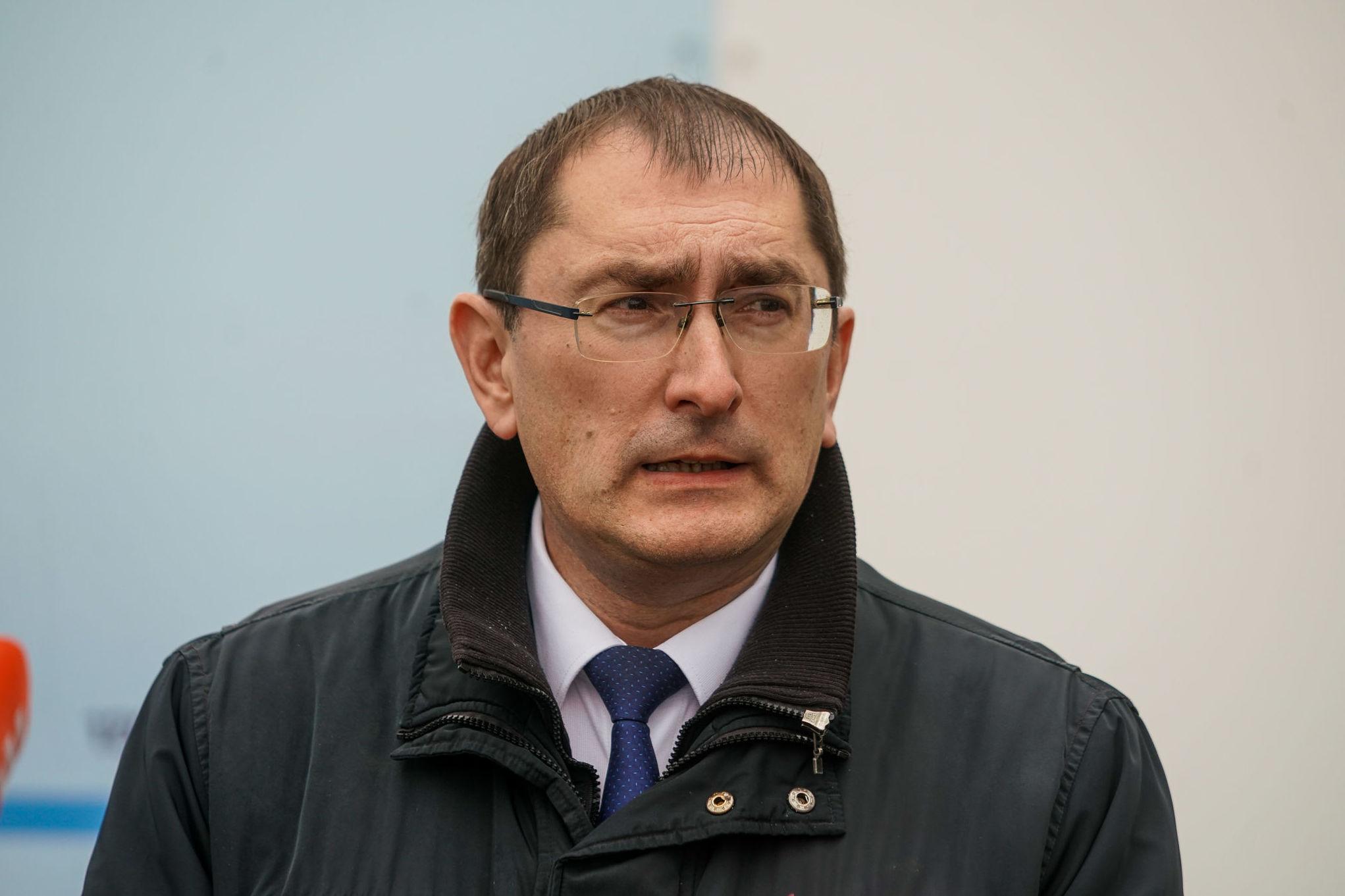Министр сообщения Латвии Талис Линкайтс